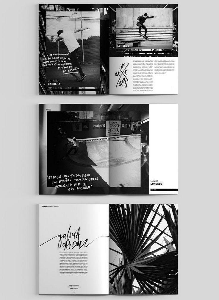 145 Fantastische Layout-Designs für Magazine