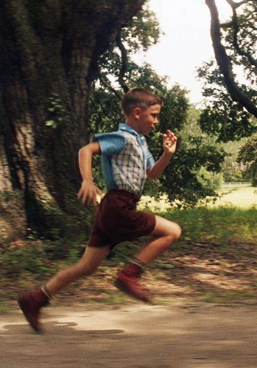 forrest gump, film, 1990s, 90s, run forrest! ruuuuuuun!