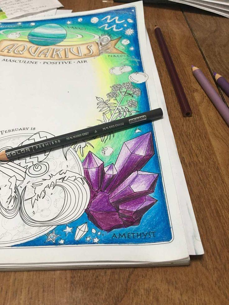 Aquarius Color Along Coloring BooksAquariusPaint