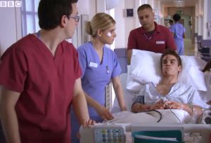 Holby City (15/41) Chantelle and Digby had to deal with the aftermath of last week's attack.