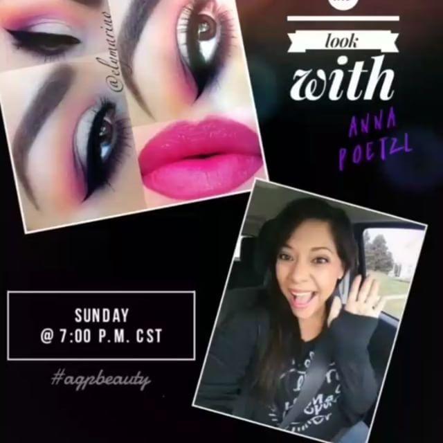 Join me every Sunday @ 7 p.m. CST on Facebook.com/annapoetzl.96 to have some makeup fun and recreate the weeks winning look.❤❤❤Slay them with success. ���� #youniquecorporate . . . . .  #makeuplove #rocklashlove #brightfutures #behappy #rocklife #beawesome #myYlife  #lipstick #lovinglife  #brightfutures  #lovemakeup #girls #smile #happy #beauty #lipstick #makeupmafia #ootd #motd #eotd  #selfie #dailypost #bestoftheday #lips  #esthetics #cosmetology  #buildingempires #splashliquidlipstick…