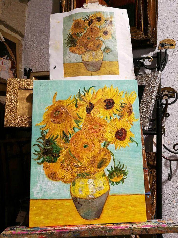 Finito. I girasoli di Van Gogh (copia)