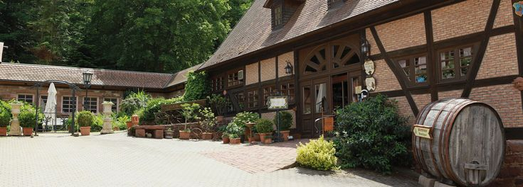 Landhotel - Romantisches Landhotel und Restaurant Der Schafhof I Amorbach - Odenwald - Kreis Miltenberg