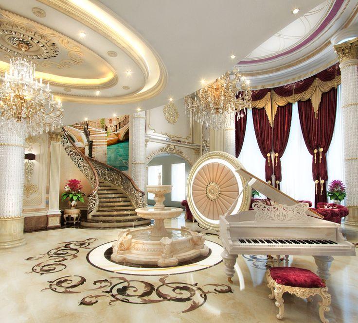 Foyer Decor Qatar : Best foyer images on pinterest stairways house