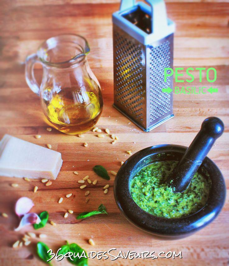 Pesto de basilic - 36 Quai Des Saveurs