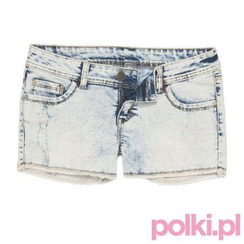 Dżinsowe szorty, Sinsay #polkipl #colours #fashion #moda #stylizacje