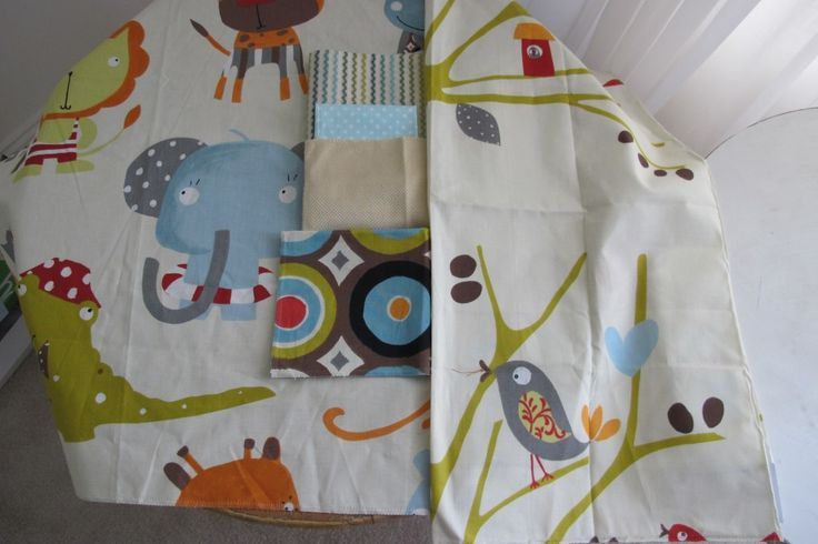 Love these fabrics from Fabricut for the playroom. design courtesy of Wbrockinteriors