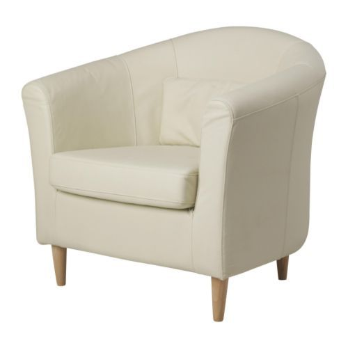 Delightful TULLSTA Chair   Robust Off White   IKEA (leather) $199