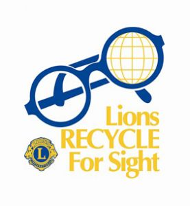 Lions Club Eyeglasses.  Community Services and the Lions Club team up to distribute glasses to adults in need.