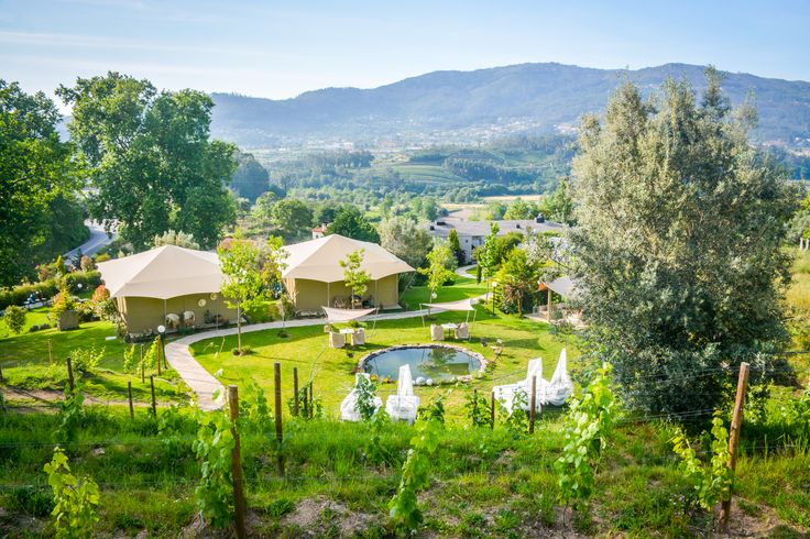 This is camping on a whole new level...! Carmo's Boutique Hotel have just revealed their new Portuguese colonial style luxury tents. Complete with a full size bath tub and a balcony with superb views over the Minho landscape, you will be surrounded by gardens, vineyards and lakes. The perfect way to get back to nature, but in style!  http://www.slh.com/hotels/carmos-boutique-hotel/