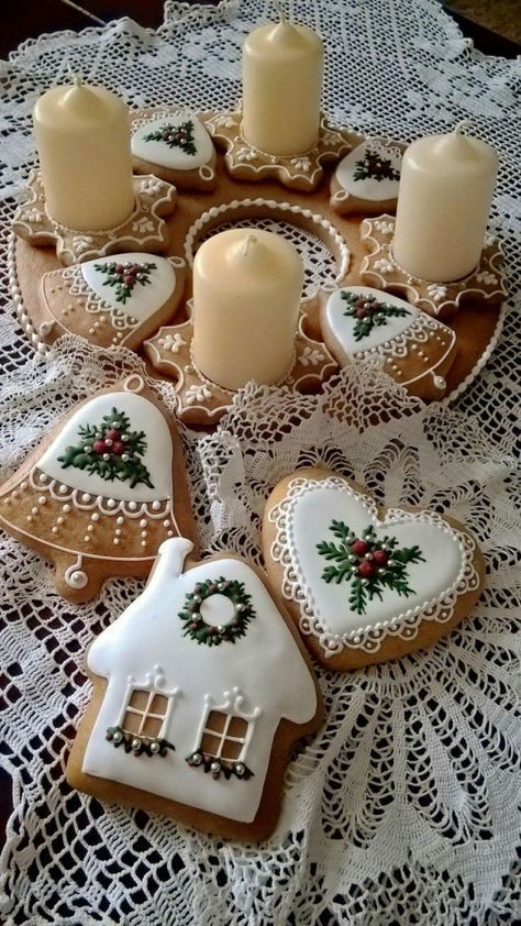 These are adorable iced cookies.