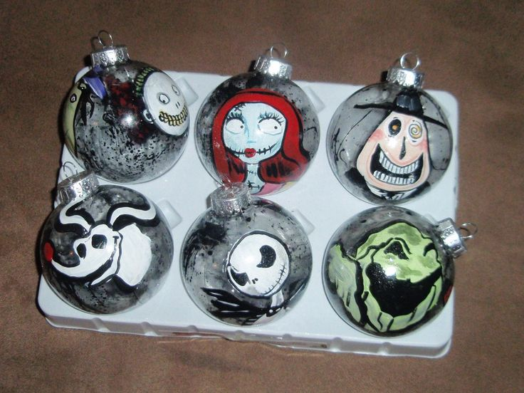 decoration glamorous nightmare before christmas decor 13 - Halloween Christmas Ornaments