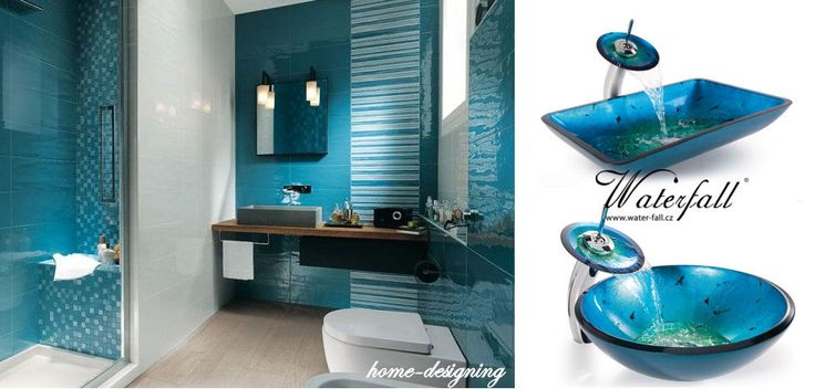 Modré umyvadlo na desku http://www.waterfall-products.cz/672-umyvadlove-sety a http://www.water-fall.cz/cz/koupelnove-baterie-luxusni-kuchynske/umyvadla-sety/