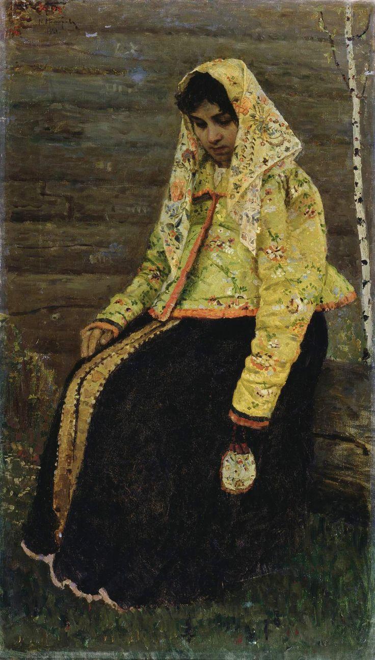 Михаил Васильевич Нестеров - Девушка 1888