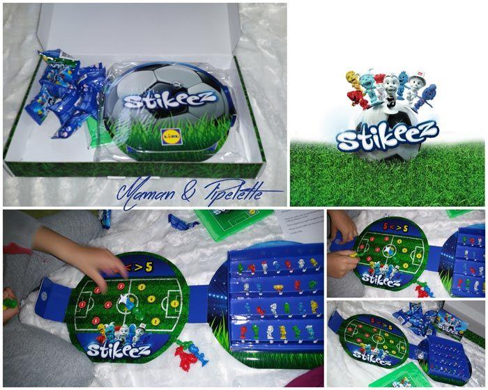 Stikeez complètement foot chez LIDL avec des cadeaux