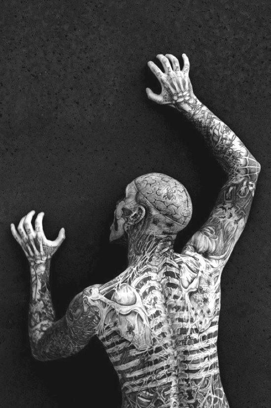 17 best images about ominous on pinterest halloween for Zombie tattoo machine