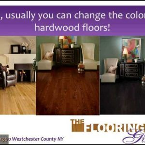 Change Wood Floor Color Without Sanding