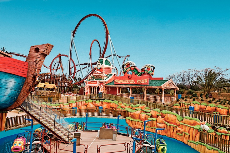 Portaventura Theme Park Near Salou In Spain Http