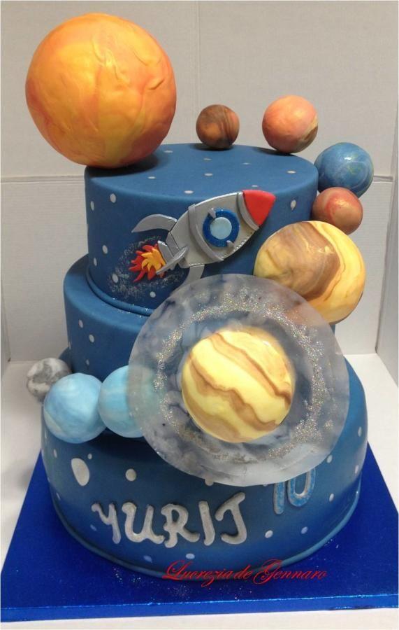Rocket Cake Topper Tutorial