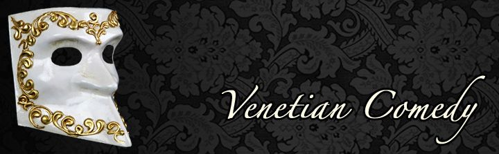 Venetian Comedy Masks