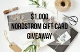 $1000 Nordstrom Gift Card Giveaway  Open to: United States Canada Other Location Ending on: 11/23/2017 Enter for a chance to win a $1000 Nordstrom Gift Card. Enter this Giveaway at The Styled Fox  Enter the $1000 Nordstrom Gift Card Giveaway on Giveaway Promote.