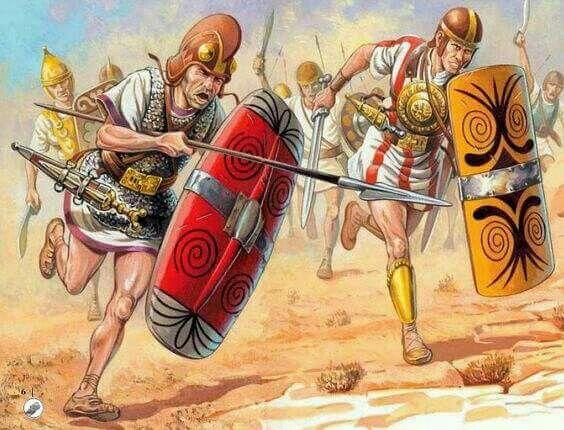 - Mercenarios Celtiberos . Siglo lll a.C.