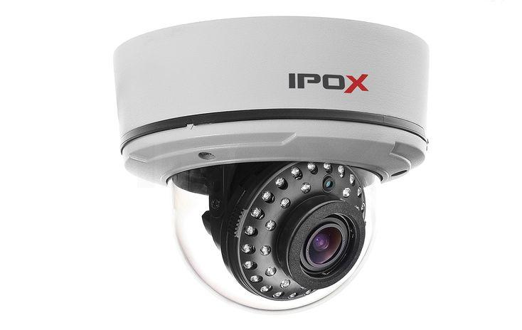 Kamera IPOX PX515EP | Kamery kopułowe ------------      Sony Effio-V >650 / >700TVL   #cctv #camera #vandalproof #ipox