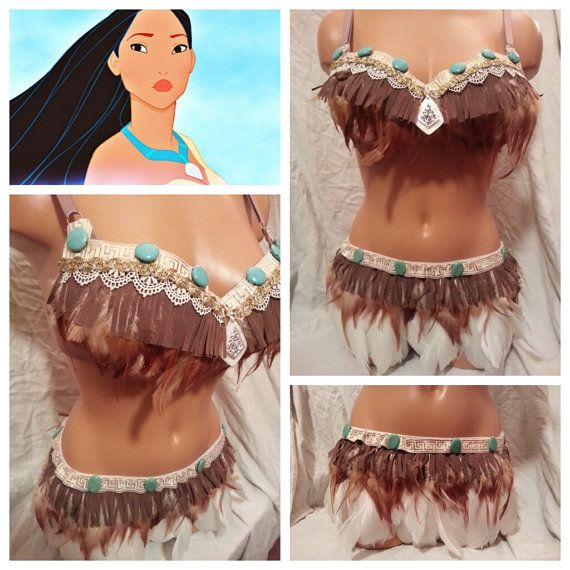 Indian Rave Bra and Bottoms Rave Outfit  Outfit by PasseDesigns, $105.00