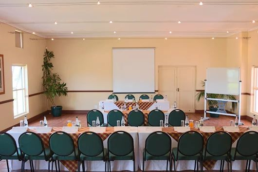 All our Venues are ideal conferencing surroundings, with natural daylight filtering through, overlooking the Blaauwklippen vineyards and lighting to suit any conference requirement.  For any enquiries, please contact us 021 888 0100 - functions@stblodge.co.za