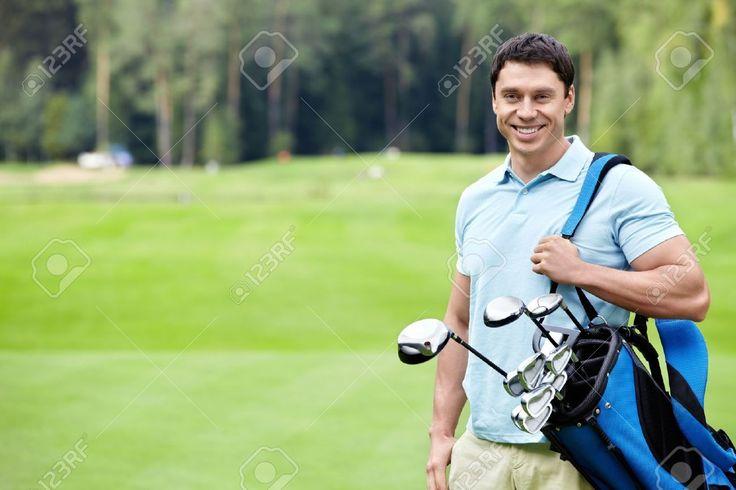Image result for man golfing