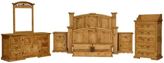 Rustic Furniture Mexican, Santa Fe Rustic Furniture Collection