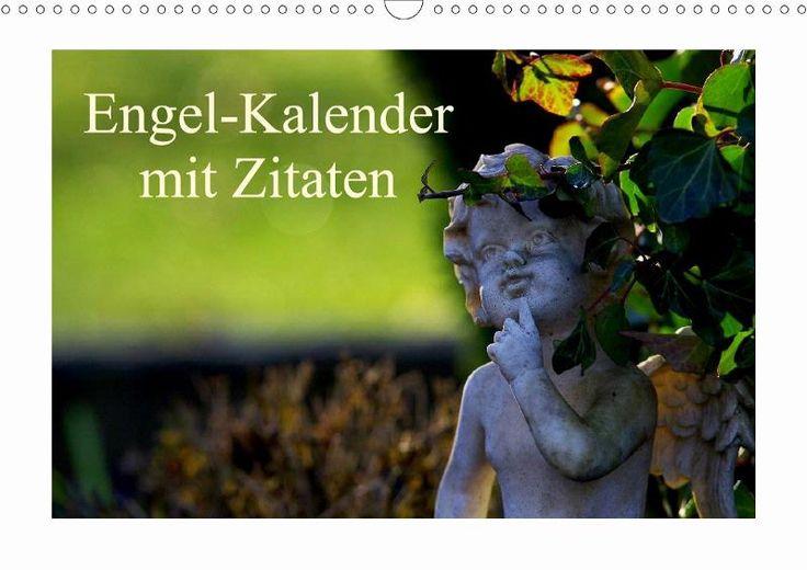 Engel-Kalender mit Zitaten - CALVENDO