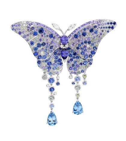 Van Cleef & Arpels Butterfly brooch. by clara