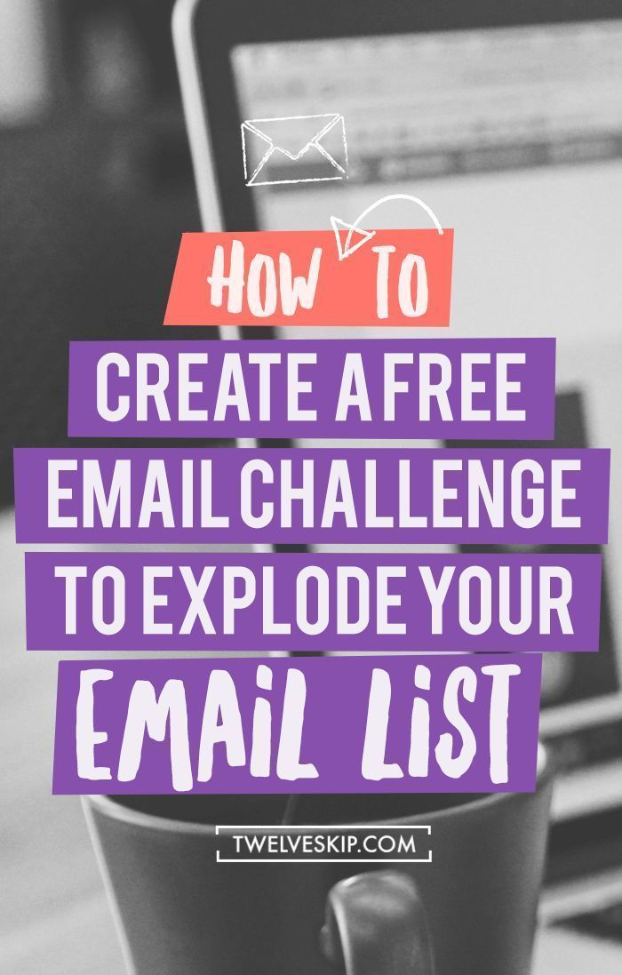 How To Grow Your Email Subscribers Using Email Challenge. Click the PIN to learn how you can explode your email list using this clever technique!
