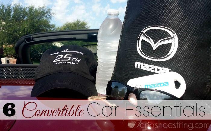 6 Convertible Car Essentials for the 2014 Mazda MX-5 Miata