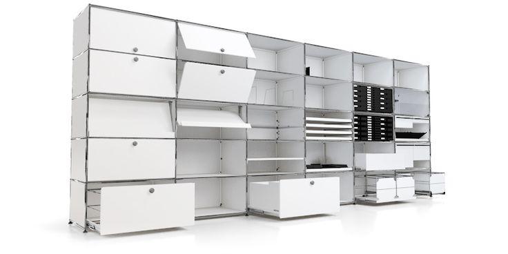USM Haller: Büromöbel in zeitlosem Design - USM