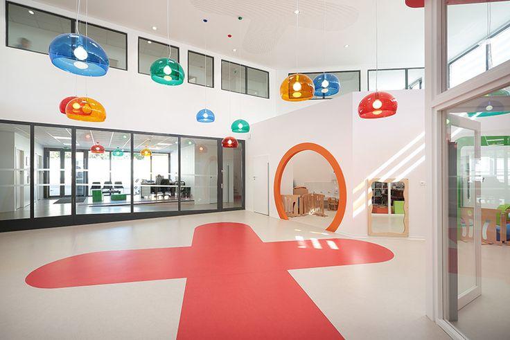 A+Architecture have designed a childcare center in Lodève, France
