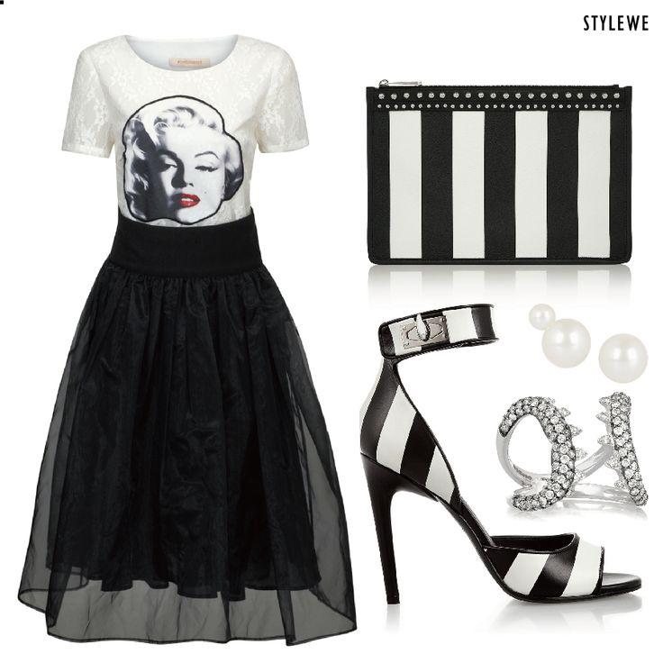 Appliqued #Lace Mini #dress