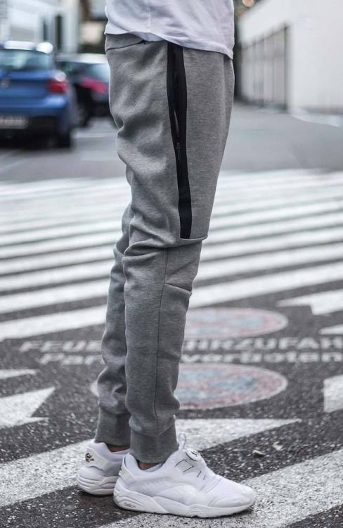 Tech Fleece Pants @ Nike US probably XL or XXL would like black or darker color