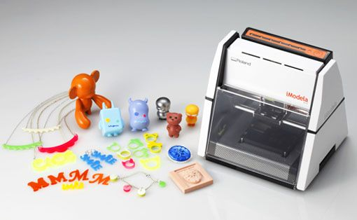 Roland iModela iM-01 Small 3D Printer
