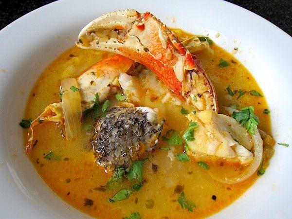 sopa peruana del mar