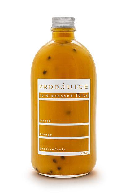 Mango orange passionfruit   Prodjuice www.prodjuice.com.au