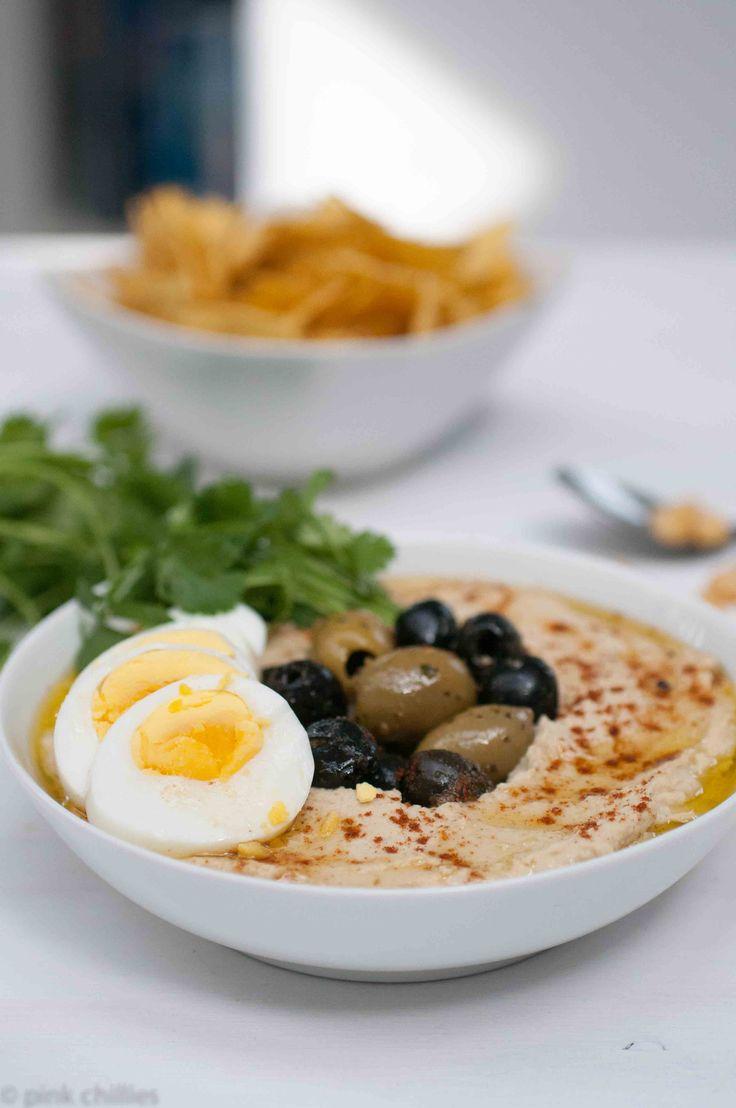 Cremiges Hummus