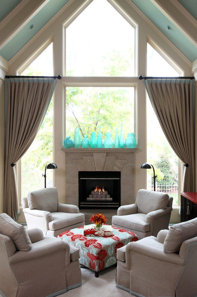 Best 25 Beige Curtains Ideas On Pinterest Family Room