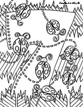 lots of free coloring pages on Doodle Art Alley. very cool!