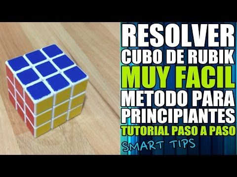 Resolver cubo de Rubik: Paso 6 - YouTube