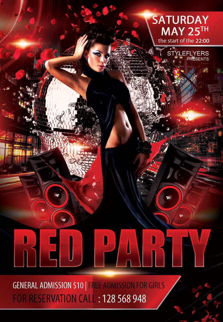 freepsdflyer free party flyer psd template download club party