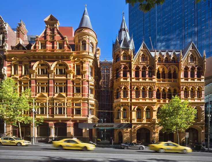 intercontinental hotel Melbourne Collins street