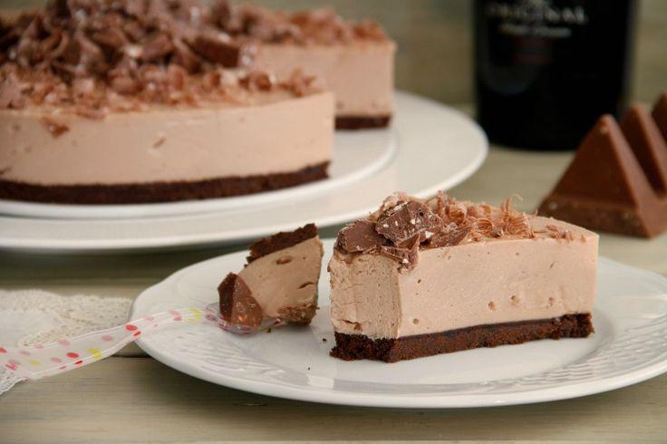 Tarta de queso, Baileys y Toblerone » Recetas Thermomix | MisThermorecetas