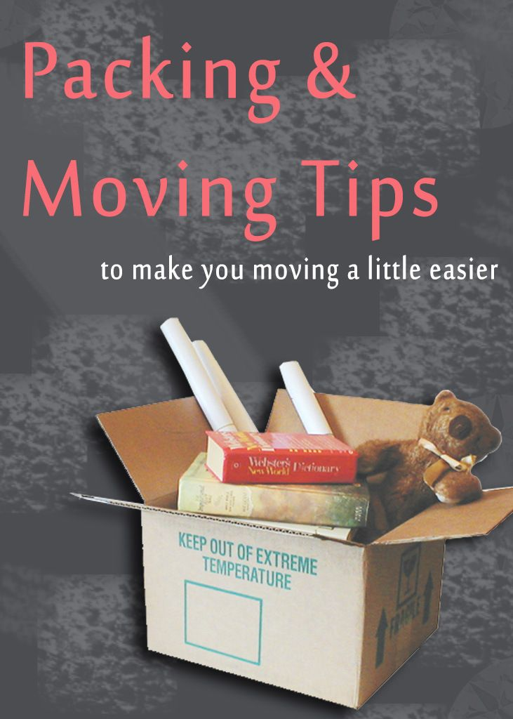 how to make moving easier and less stressful
